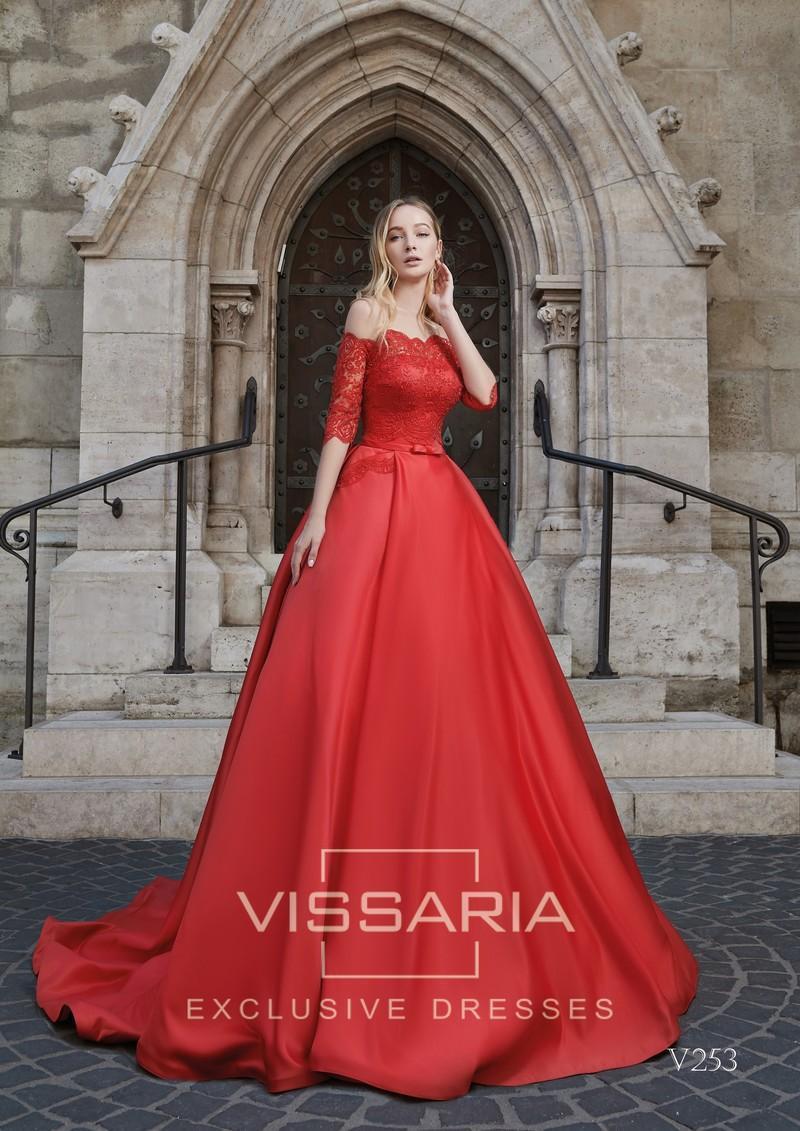 Abendkleid Vissaria V253