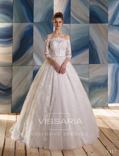 Свадебное платье Vissaria V117