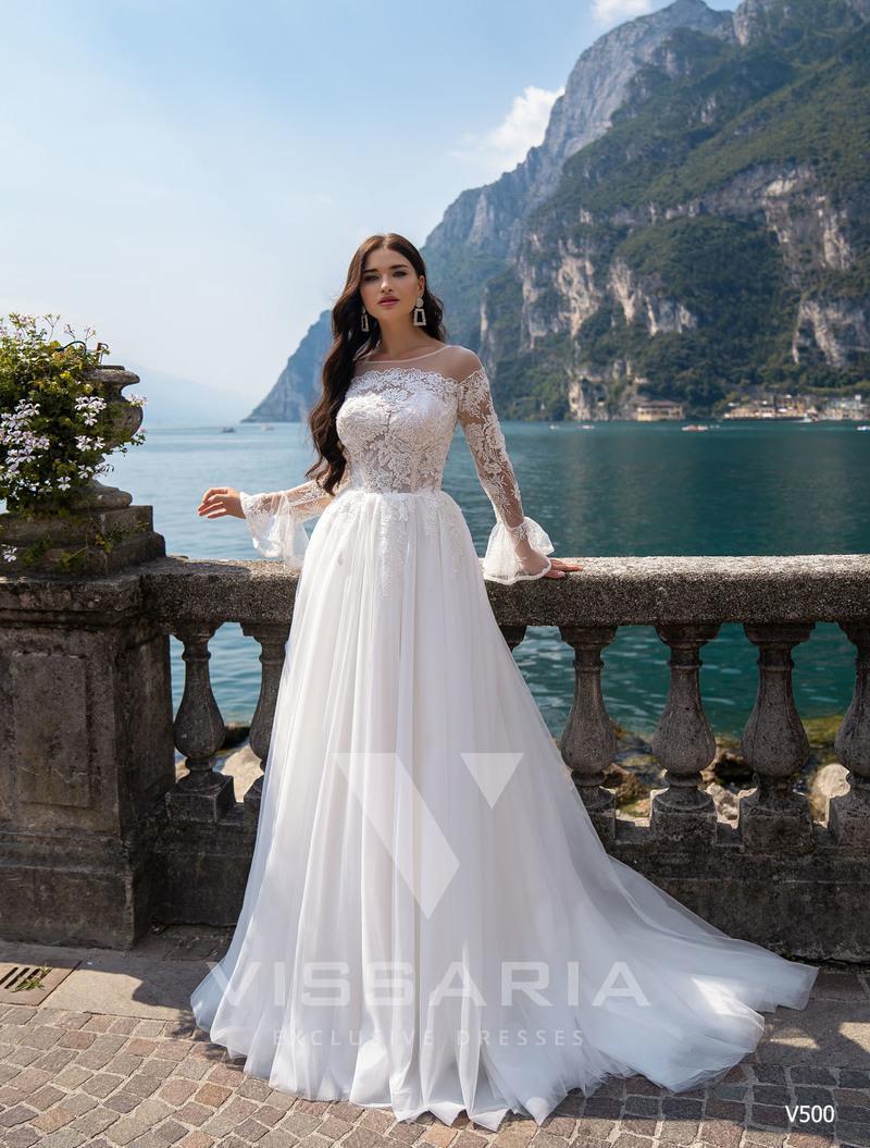 Свадебное платье Vissaria V500