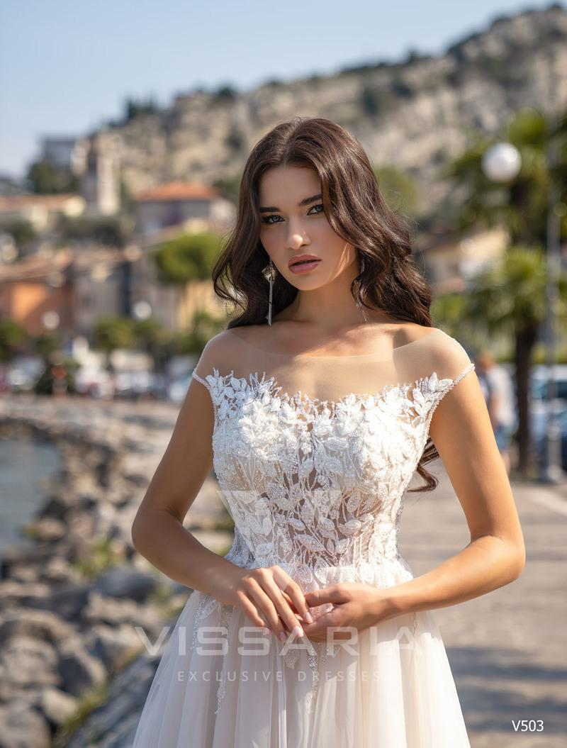 Свадебное платье Vissaria V503