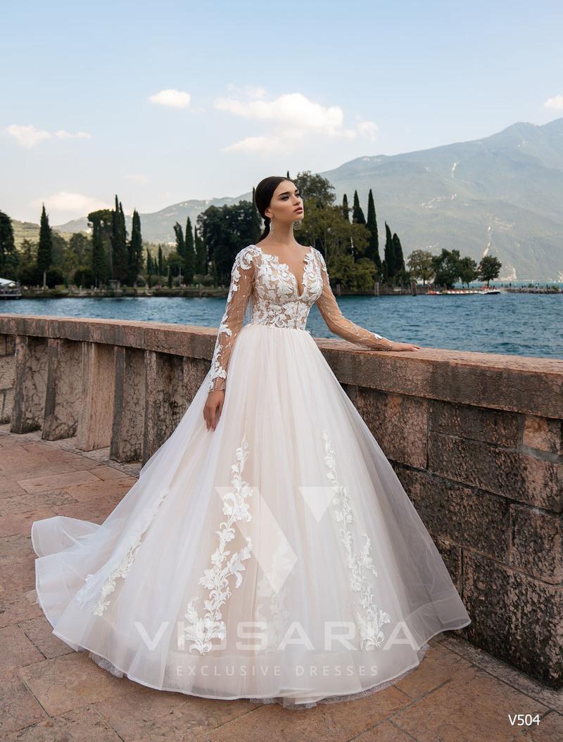 Свадебное платье Vissaria V504