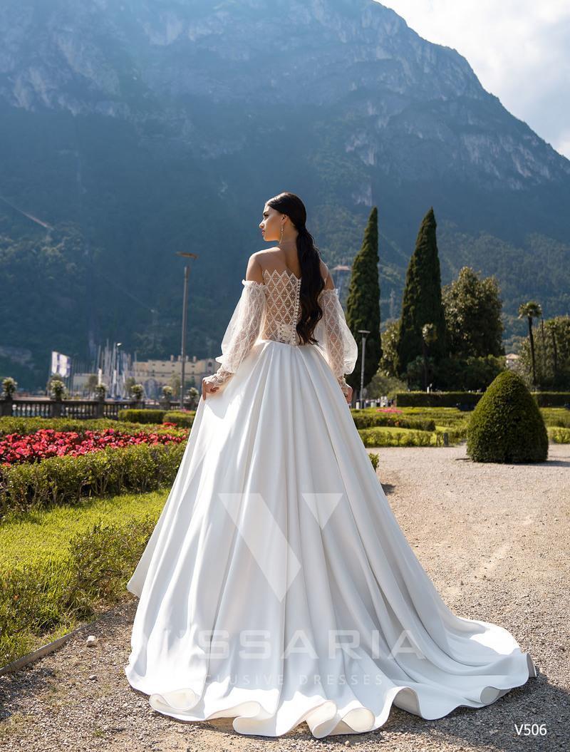 Rochie de mireasa Vissaria V506