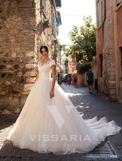 Wedding Dress Vissaria V508