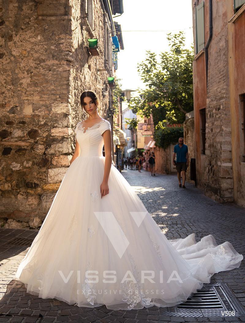 Rochie de mireasa Vissaria V508