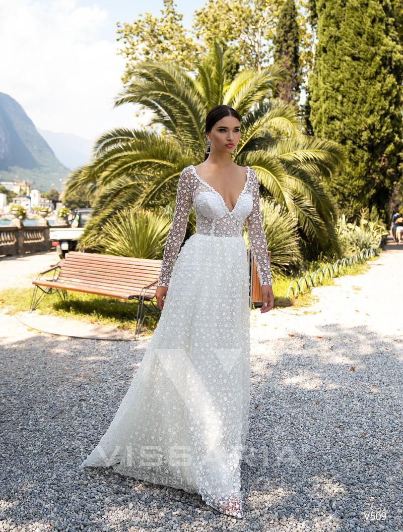 Rochie de mireasa Vissaria V509