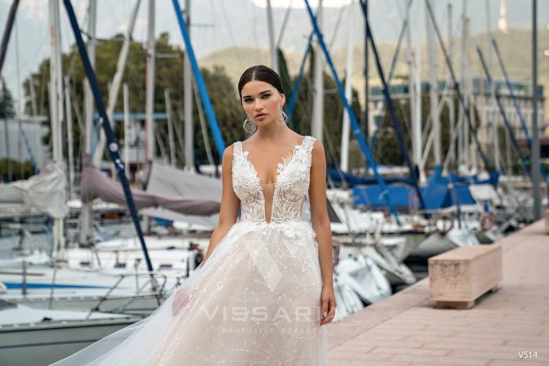 Свадебное платье Vissaria V514