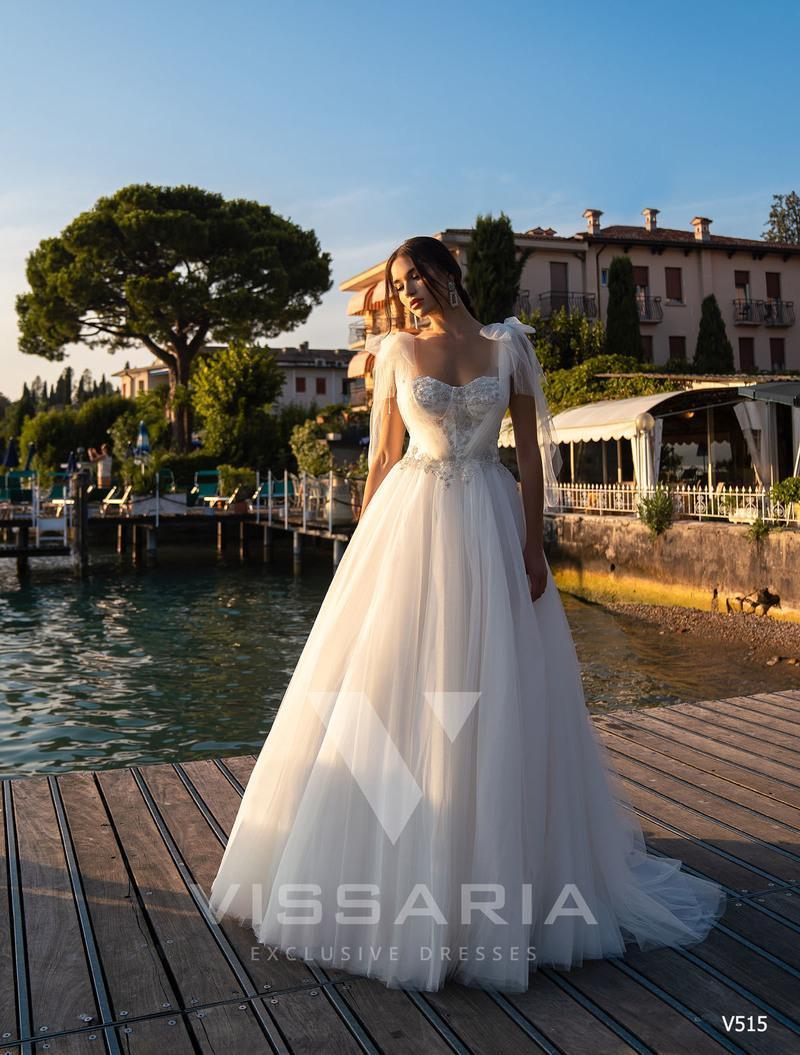 Свадебное платье Vissaria V515