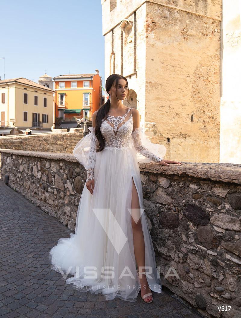 Rochie de mireasa Vissaria V517
