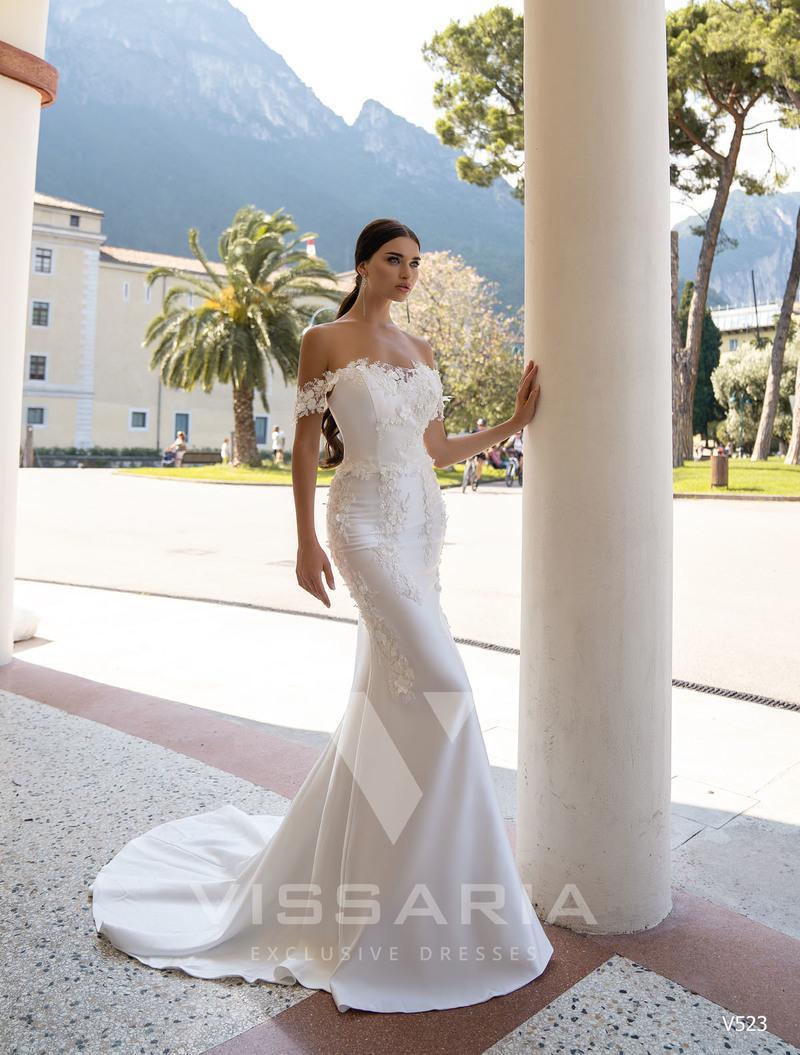 Свадебное платье Vissaria V523