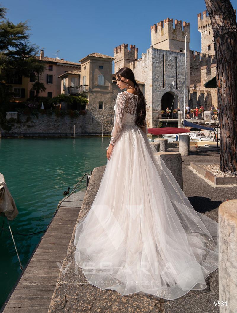 Свадебное платье Vissaria V534