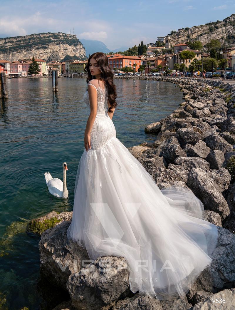 Свадебное платье Vissaria V536