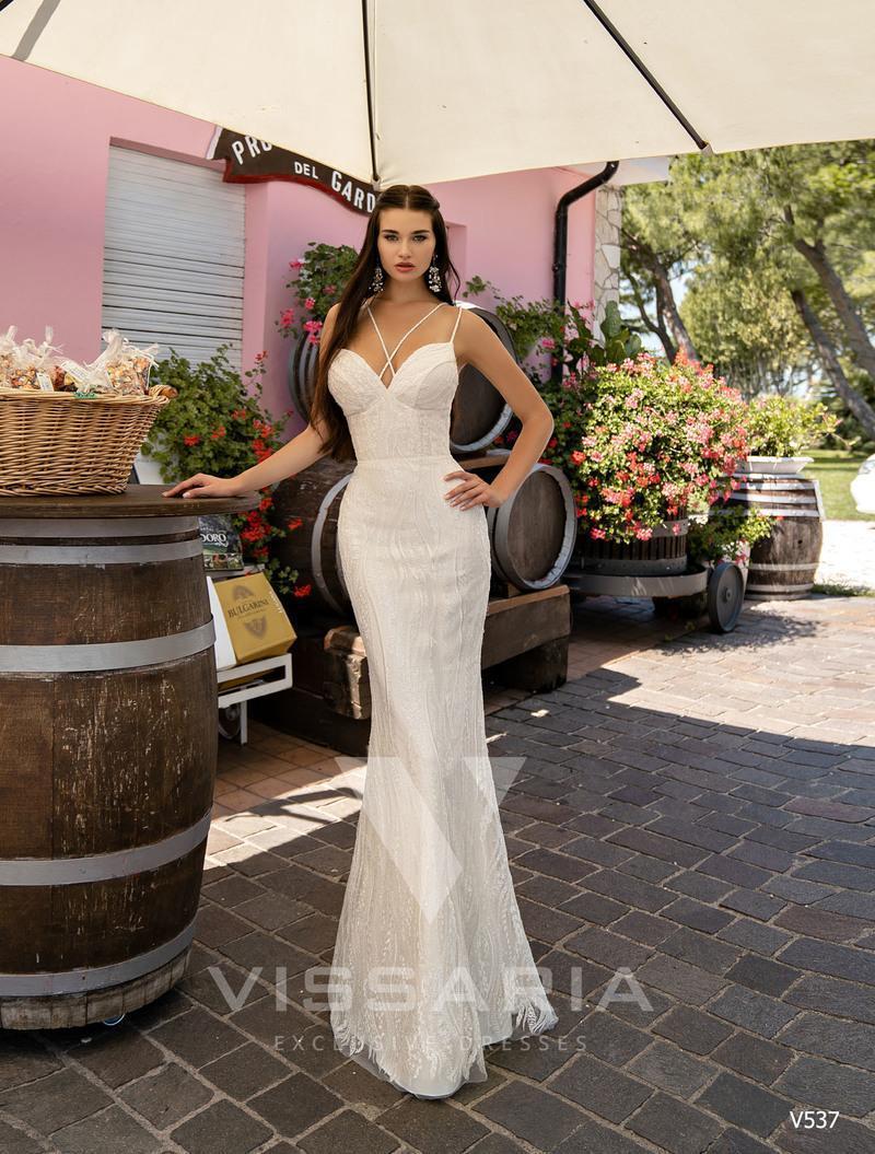 Свадебное платье Vissaria V537