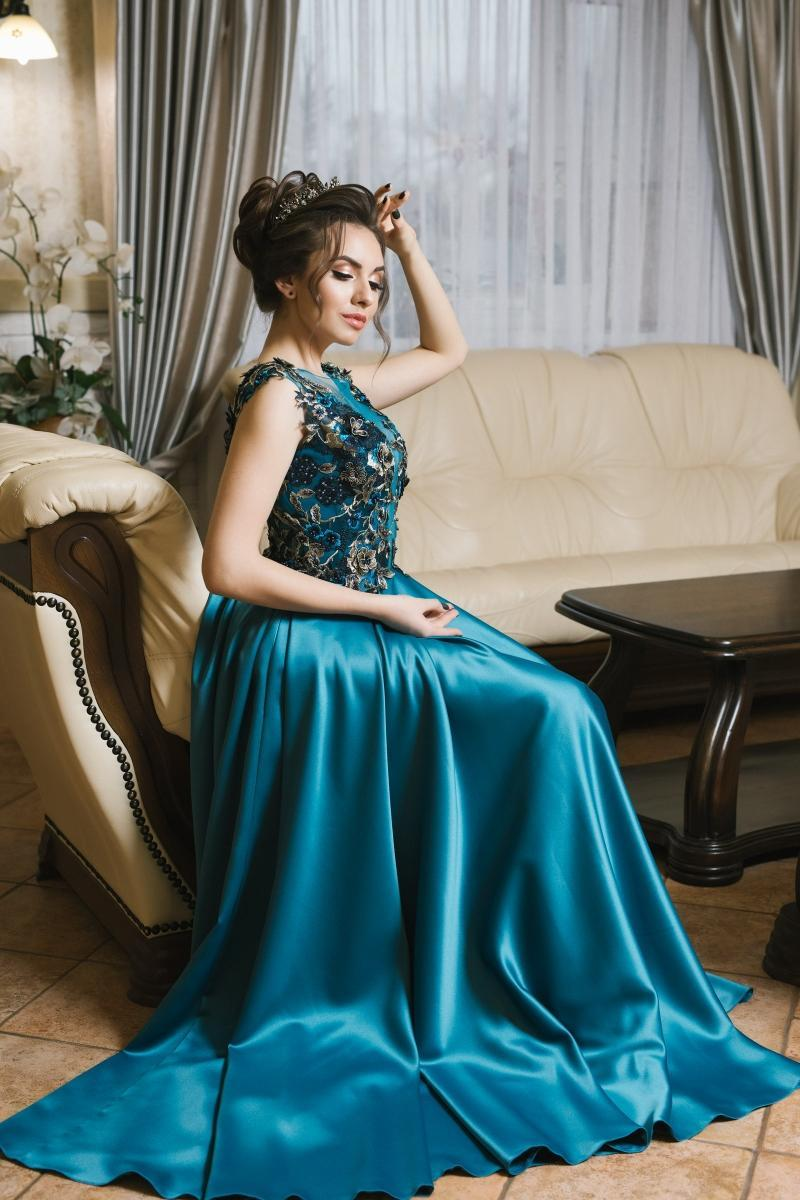 Evening Dress Wedboom v-006