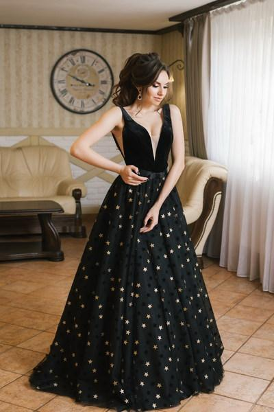 Evening Dress Wedboom v-007