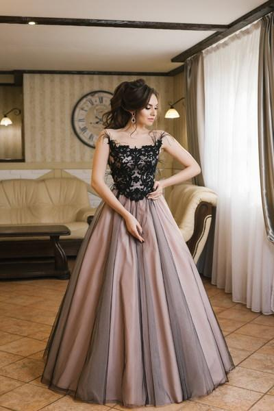 Evening Dress Wedboom v-008