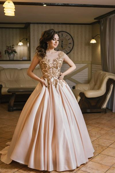 Evening Dress Wedboom v-015