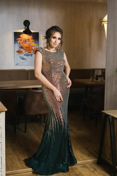 Evening Dress Wedboom v-022